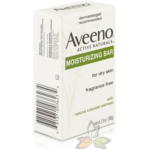 【現貨秒出】Aveeno 艾惟諾 天然燕麥保濕香皂 ( 無香 / 低敏) 100g【百奧田旗艦館】