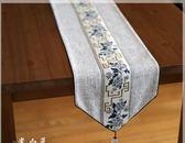 桌布 新中式桌旗中式禪意茶席布棉麻布藝茶桌茶道旗茶幾餐桌桌布中國風 曼慕衣櫃