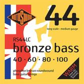小叮噹的店 英國ROTOSOUND RS44LC (40-100) 木貝斯弦 磷青銅 旋弦公司貨