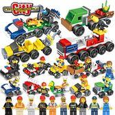 兼容樂高積木男孩子6歲兒童益智力7拼裝組裝8合體機器人9玩具10【交換禮物】