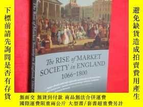 二手書博民逛書店The罕見Rise of Market Society in E