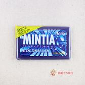 日本糖果朝日Asahi_MINTIA糖果(清涼薄荷)7g【0216零食團購】4946842505975