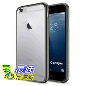 黑鎳Spigen iPhone 6 Case,  [AIR CUSHION] (4.7) Case Bumper iphone6 (2014)  手機保護殼 -Gunmetal $739