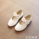 女童單鞋黑色皮鞋公主鞋小女孩鞋子2021秋款兒童女演出兒童鞋軟底 小艾新品