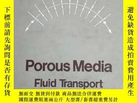 二手書博民逛書店Porous罕見Media: Fluid Transport and Pore StructureY15382