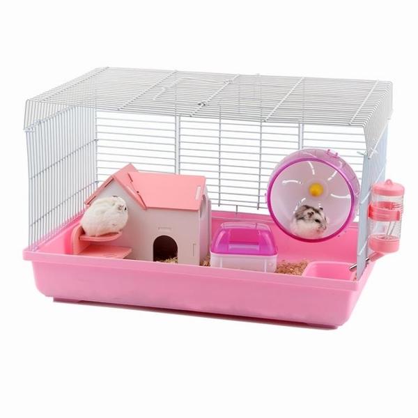 倉鼠籠子雙層豪華別墅城堡47基礎籠倉鼠窩寵物金絲熊超大號別墅
