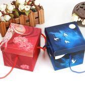 平安果包裝盒中國風 創意圣誕紙盒喜糖盒