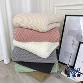 毛毯北歐辦公室沙發毯空調針織線披肩小毛毯【古怪舍】