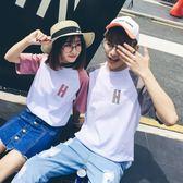 虧本衝量-新款夏裝酷酷的情侶裝帥氣ins短袖t恤女bf風寬鬆韓版學生 快速出貨