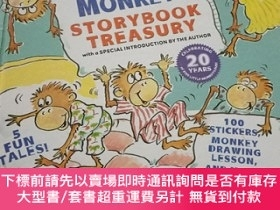 二手書博民逛書店Five罕見Little Monkeys Storybook Treasury 精裝本Y12530 Eilee