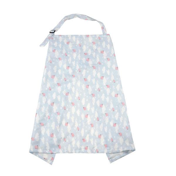 棉哺乳巾餵奶巾授乳外出披肩春夏秋罩衣遮擋吊帶遮羞布防走光月光節