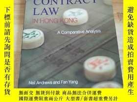 二手書博民逛書店Contract罕見Law in Hong Kong - An