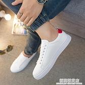 小白鞋男鞋夏季新款小白鞋男韓版潮流百搭白色板鞋低幫休閒學生白鞋 雙十二全館免運