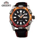 ORIENT 東方錶 WATER RESISTANT 100m系列 Marine運動機械錶 皮帶款 FEM7R005B 黑色 - 45.5mm