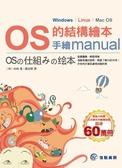 (二手書)OS的結構繪本:手繪manual