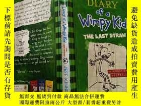二手書博民逛書店Diary罕見of a Wimpy Kid :THE LAST STRAW:一個懦弱的孩子的日記:最後一根稻草…奇