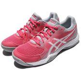 【六折特賣】Asics 排羽球鞋 Gel-Task 粉紅 白 女鞋 亞瑟士 運動鞋 【PUMP306】 B754Y1901