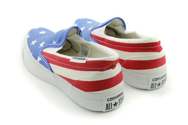 CONVERSE All Star Core Slip 懶人鞋 星星 條紋 紅 藍 男女鞋 148696C no155