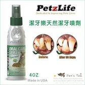 Pet's Talk~美國Petzlife潔牙樂-天然潔牙噴劑 不用再麻醉洗牙/老犬及無法接受洗牙的小型犬