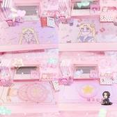滑鼠墊 可愛美少女小櫻魔法陣滑鼠墊創意桌墊 粉嫩軟妹辦公室游戲滑鼠墊 4色 交換禮物