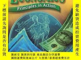 二手書博民逛書店ECONOMICS罕見PRINCIPLES IN ACTION(