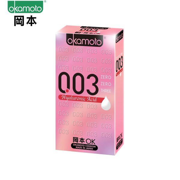岡本003HA極薄玻尿酸保險套/衛生套6入裝