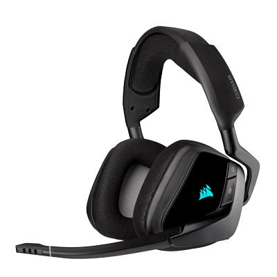 CORSAIR 海盜船Corsair VOID RGB ELITE Gaming無線耳麥 黑