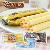 印尼 Wasuka 特級威化捲 (50入) 600g 威化捲 捲心酥 餅乾 巧克力捲 牛奶捲 起司捲 威化捲心酥