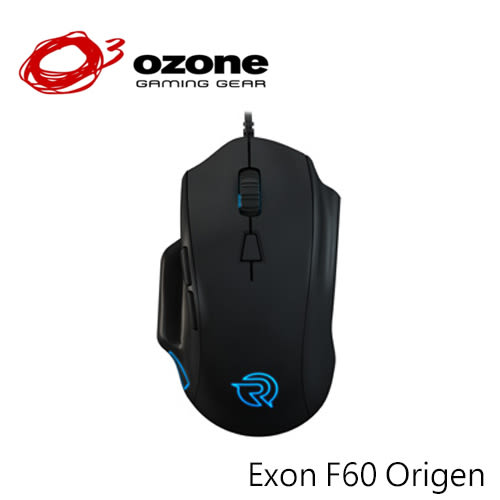 Ozone Exon F60 Origen 戰隊版 RGB 光學電競滑鼠