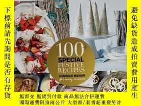 二手書博民逛書店delicious罕見100+ SPECIAL FESTIVE RECIPES 特刊 2020年4月 英文版 美食