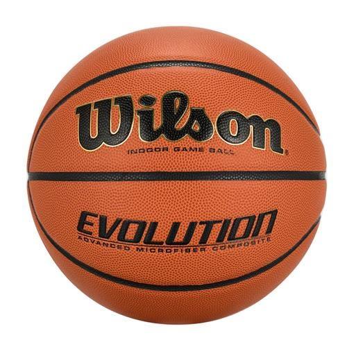 Wilson Evolution 室內超纖合成皮籃球 NFHS 認證 (7號)