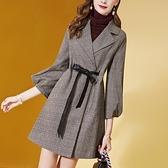 風衣女新款中長款四十歲媽媽洋氣高端氣質薄款垂感外套春秋