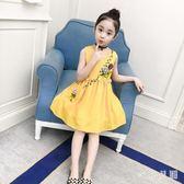中大尺碼兒童洋裝夏裝兒童超洋氣公主裙 WD2996【衣好月圓】
