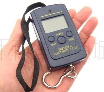 [協貿國際]  高精度手持提稱釣魚電子稱電子秤40kg