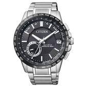 CITIZEN 星辰光動能GPS萬年曆自動對時腕錶-夏限定CC3007-55E / F150