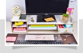 台式電腦顯示器增高架支底座辦公室桌面收納盒鍵盤整理置物架子 ciyo黛雅