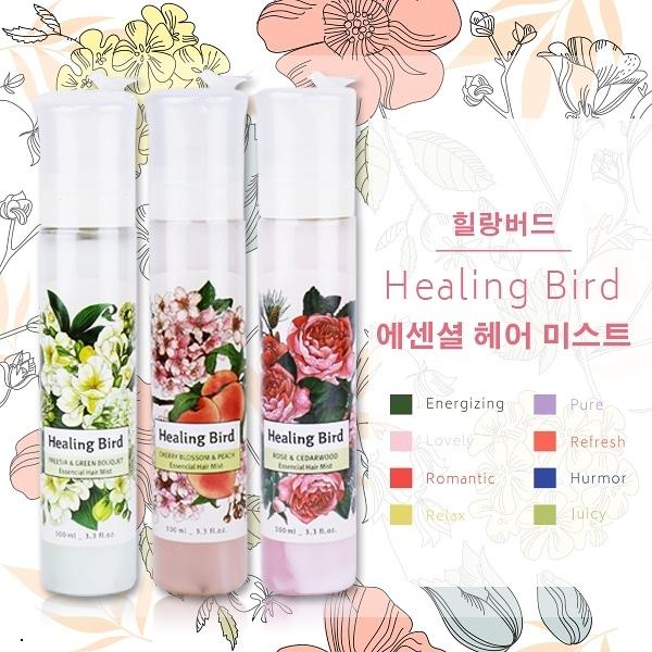 韓國 Healing Bird 植物樂園 髮香噴霧 100ml【櫻桃飾品】【29571】