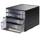 【奇奇文具】SDI NO.1848N A4 黑桌上型四層資料櫃