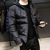羽絨服外套棉衣男士冬季新款棉襖韓版潮流修身潮牌加厚短款羽絨棉服男裝外套