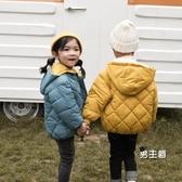兒童羽絨服 新款棉服外套男女寶寶棉衣中小童短款棉襖加厚冬