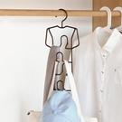 曬衣架 鳳全多功能鐵藝包包掛架 圍巾領帶架 衣柜收納架 皮帶掛鉤整理架