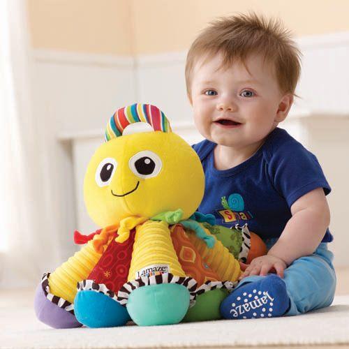 特價 Lamaze拉梅茲嬰幼兒玩具 音感八爪章魚_LC27027
