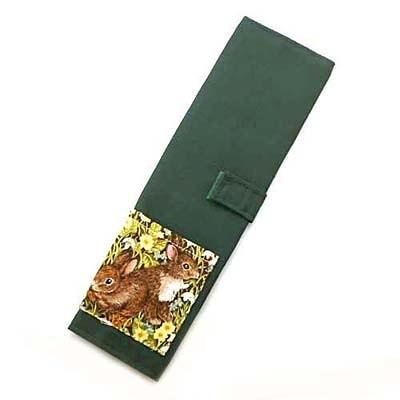 小兔兔高級綠色環保筷袋