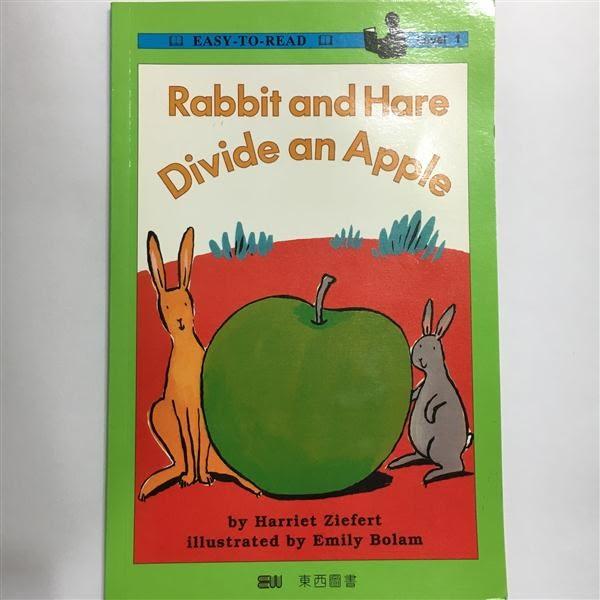 (二手書)平分一個蘋果 = Rabbit and Hare divide an apple