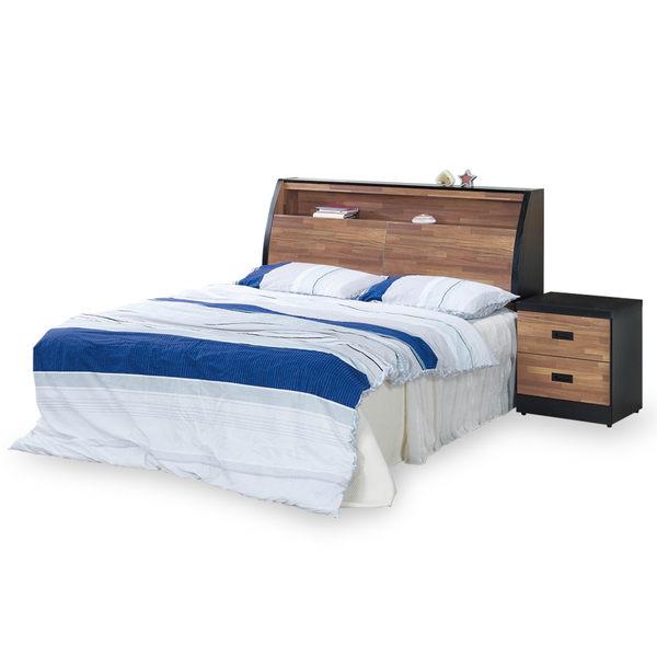 【時尚屋】[G18]本森積層木床箱型6尺加大雙人床G18-003-5+003-6不含床頭櫃-床墊/免運費