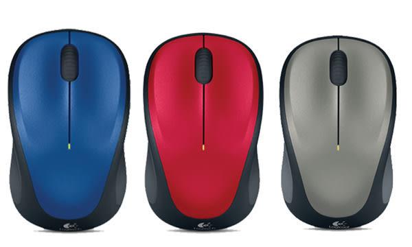 羅技 Logitech M235 無線滑鼠 M235 Wireless Mouse 藍/灰/紅 送精美滑鼠墊
