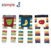 【出清】日本 stample 水果條紋內搭毛褲(葡萄/香蕉/蘋果)