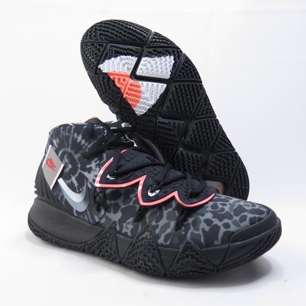 2020 Kyrie Irving 最新代言鞋款 黑灰 WHAT THE 歐文 合體鞋 後掌 ZOOM AIR 氣墊 (CT1971-001)