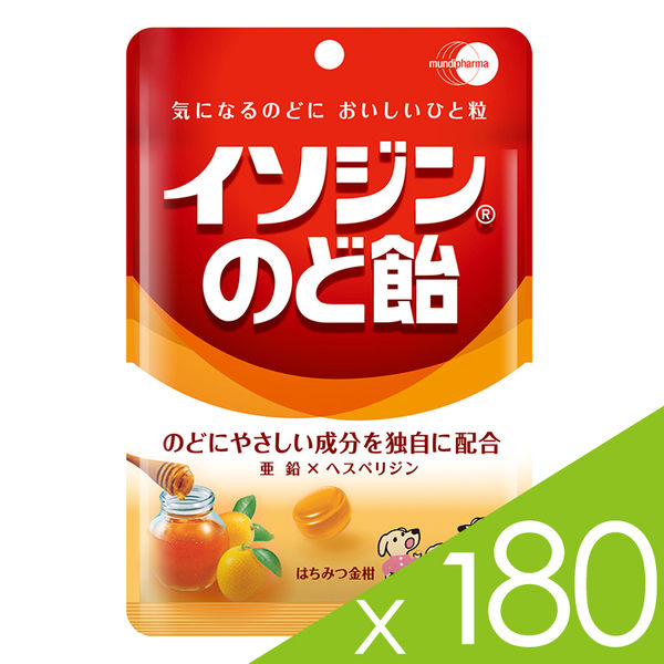 必達舒 Isodine 喉糖-蜂蜜金桔口味(91g /包)180包