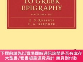 二手書博民逛書店An罕見Introduction To Greek Epigraphy 2 Volume Paperback Se